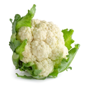 COLIFLOR fresh cauliflower isolated over white background 1000p