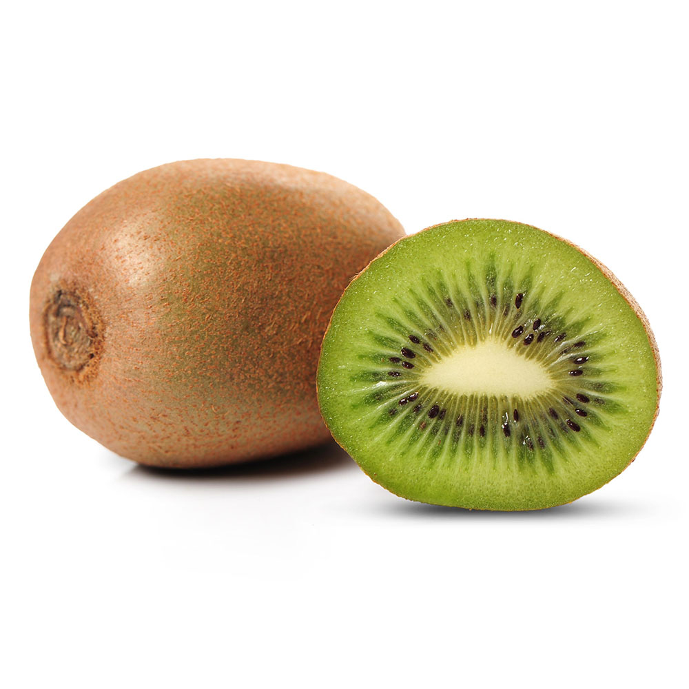 KIWI fresh kiwi fruit isolated 1000p