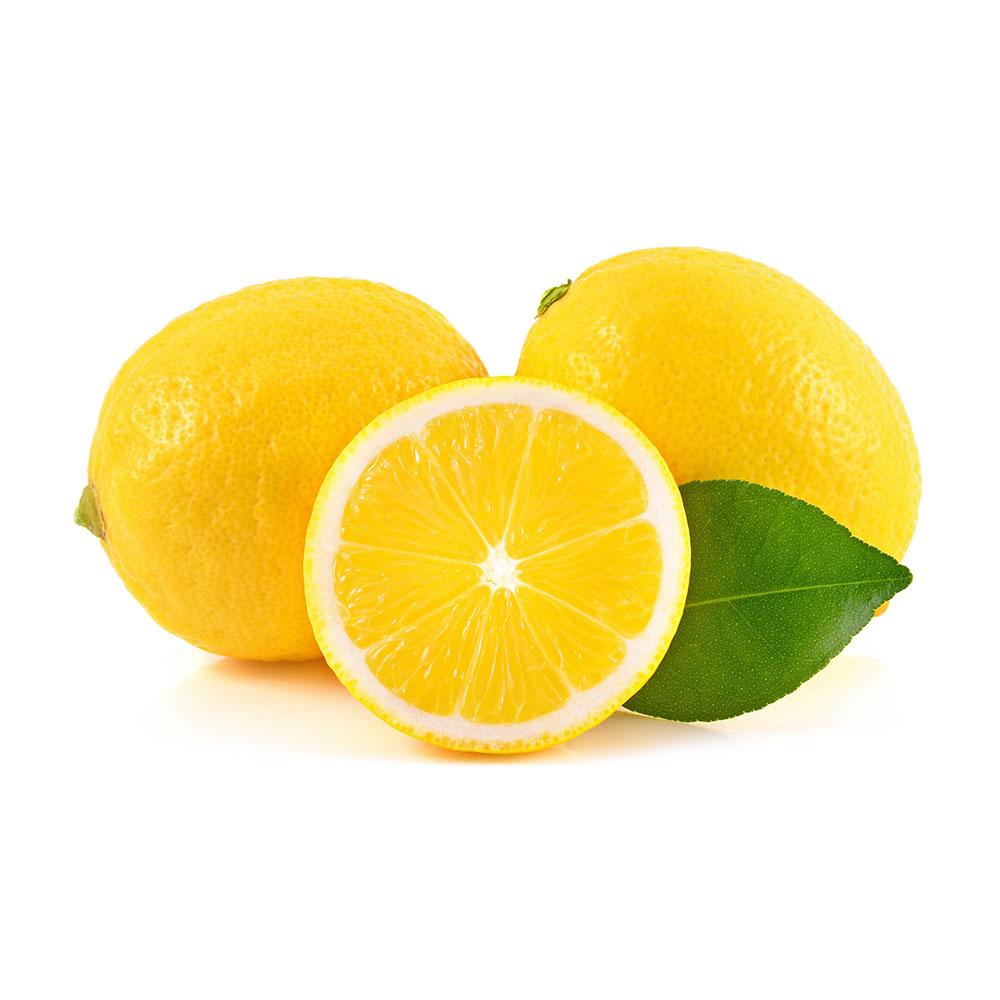 LIMON lemon isolated on white background 1000p