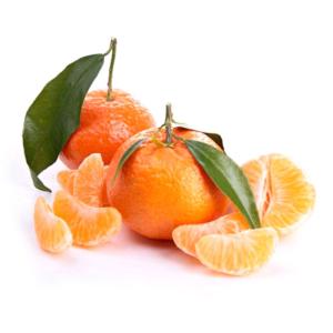 Mandarina Clementina hoja