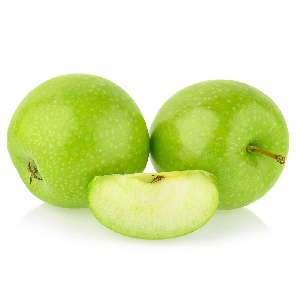 MANZANA ACIDA green apple isolated on white background 1000p
