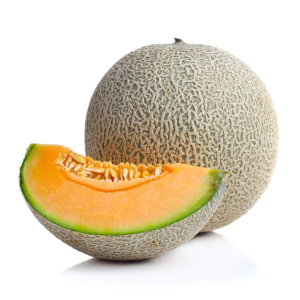 MELON CANTALUPO cantaloupe melon on white background 1000p