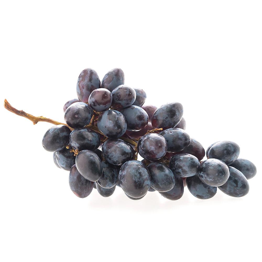 UVA NEGRA bunch of grapes on white background 1000p