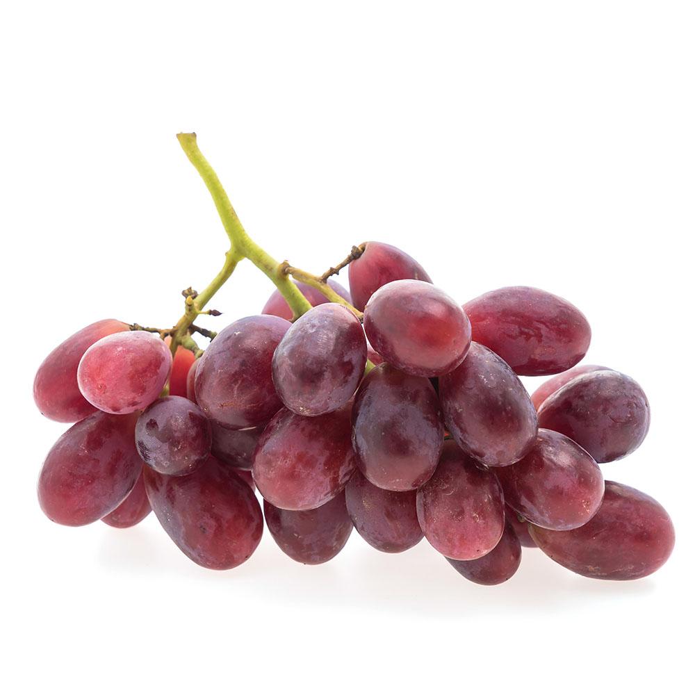 UVA ROSADA grapes fruit isolated white background 1000p