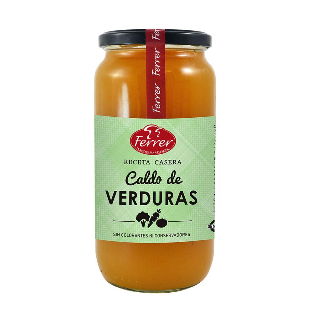 CALDO DE VERDURAS FERRER 1000p