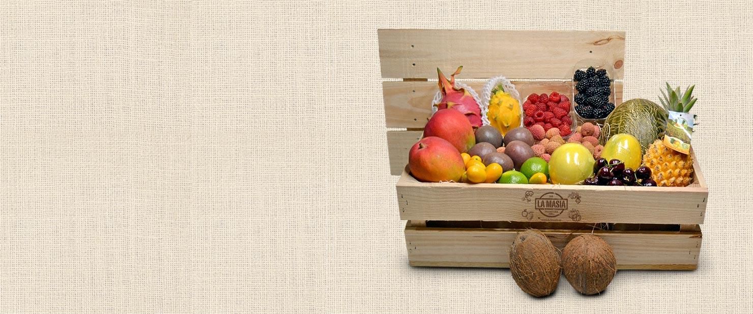 Comprar cajas de fruta a domicilio