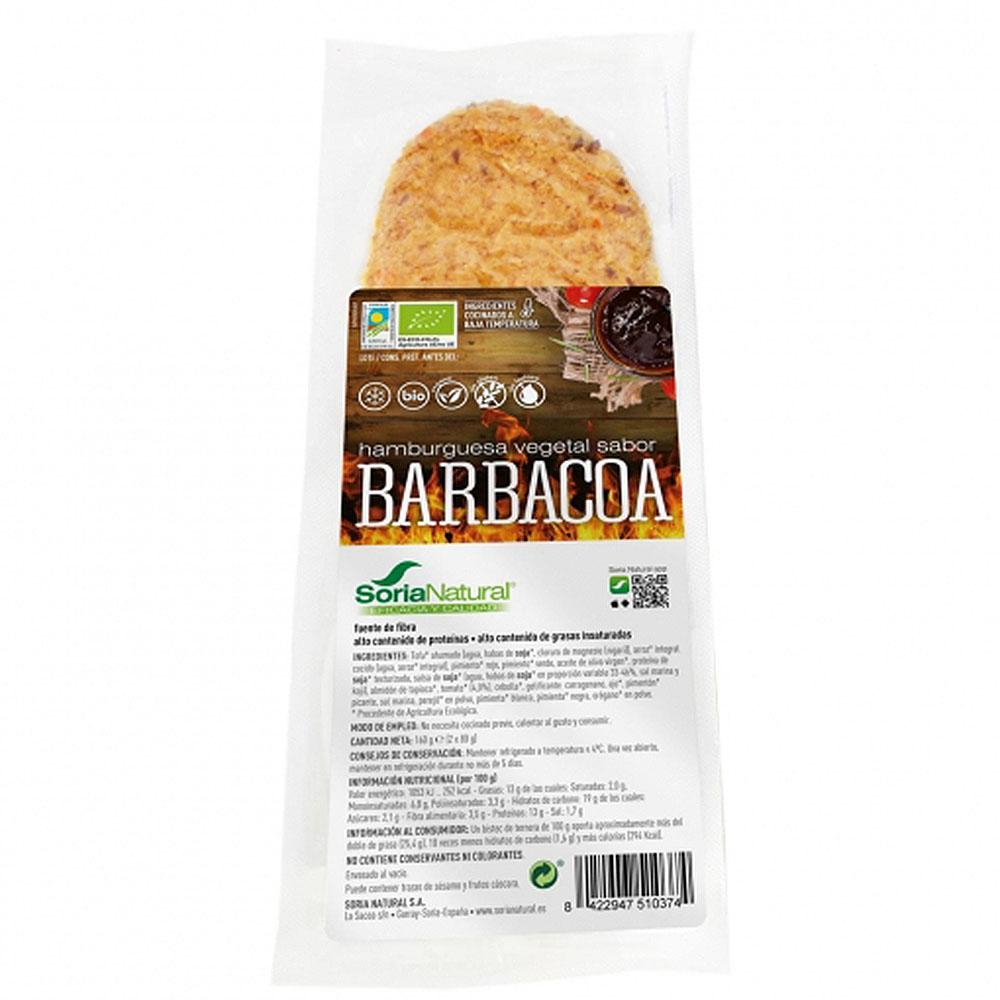 burger vegana barbacoa
