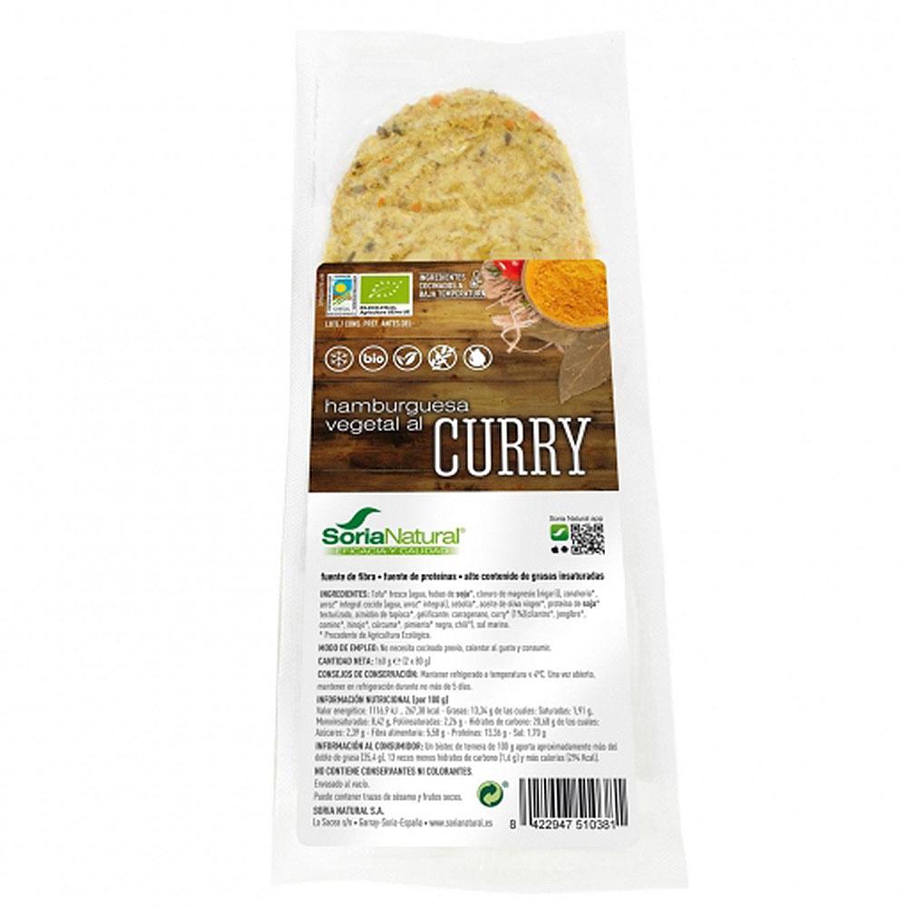 burger vegana curry