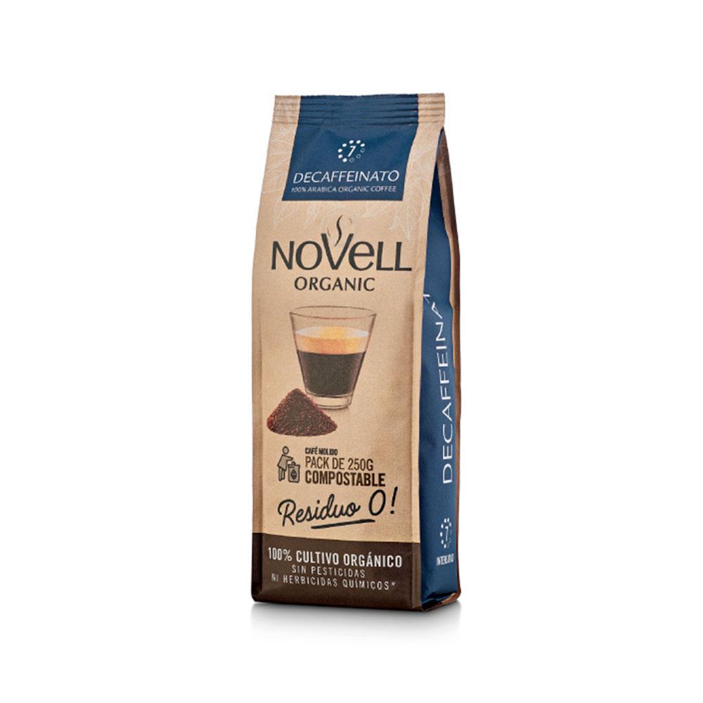 cafe molido descafeinado