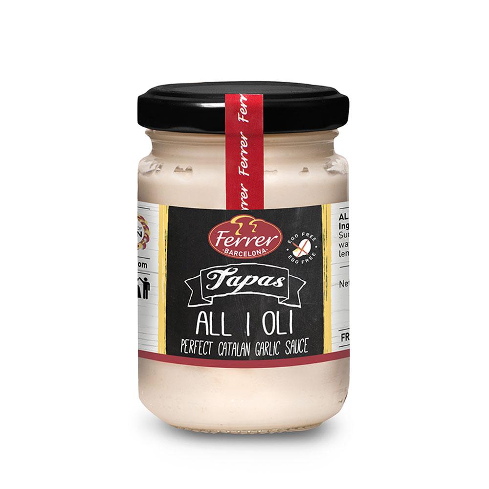 salsa ALLIOLI FERRER 1000p